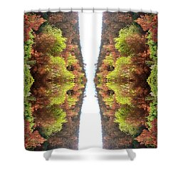 Unnatural 77 Shower Curtain by Giovanni Cafagna