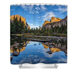 Valley View II Shower Curtain