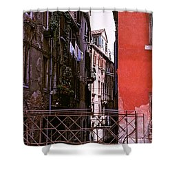 Shower Curtain featuring the photograph Venice by Ira Shander