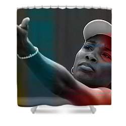 Venus Williams Shower Curtain by Marvin Blaine