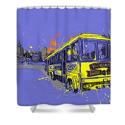 Victoria Art 014 Shower Curtain by Catf