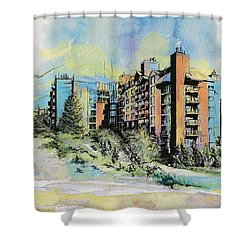Victoria Art Shower Curtain by Catf