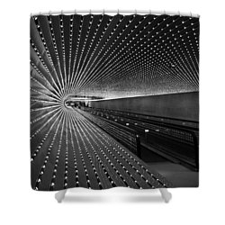 Shower Curtain featuring the photograph Villareal's Multiuniverse by Cora Wandel