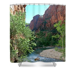 Virgin River Rapids Shower Curtain
