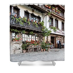 V.turnovo Old City Street View Shower Curtain