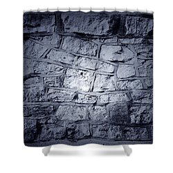 Wall Shower Curtain by Les Cunliffe