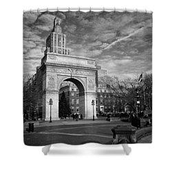 Washington Arch Shower Curtain