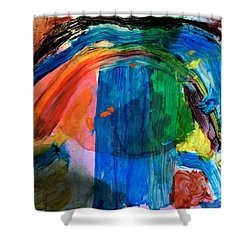 Wave Of Life Shower Curtain