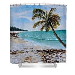 West Of Zanzibar Shower Curtain