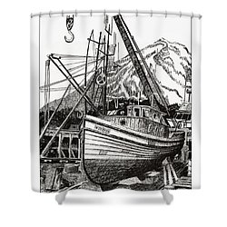 Will Fish Again Another Day Shower Curtain by Jack Pumphrey