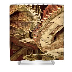 Windmill Wheels Shower Curtain by Tommytechno Sweden