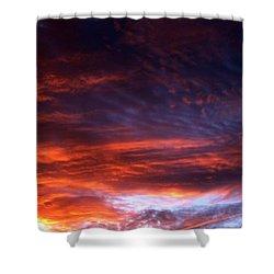Windows Of Heaven Shower Curtain by Julia  Walsh