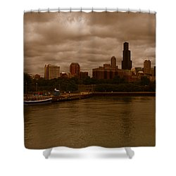 Windy City Shower Curtain