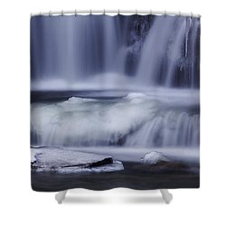 Winter Fall Shower Curtain