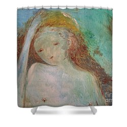 Woman Of Sorrows Shower Curtain