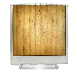 Wood Texture Shower Curtain by Les Cunliffe