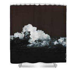 Shower Curtain featuring the photograph Words Mean More At Night by Dana DiPasquale