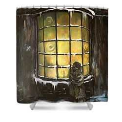 Ye Old Shoppe  Shower Curtain by Jean Walker