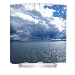 Yellowstone Lake Shower Curtain