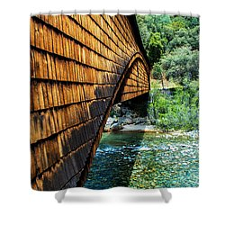 Yuba River State Park Shower Curtain