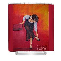 Zapatos I Shower Curtain