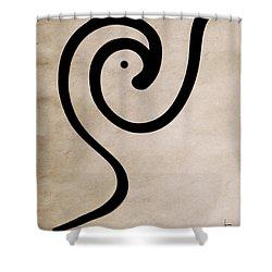 Zen Bird Shower Curtain
