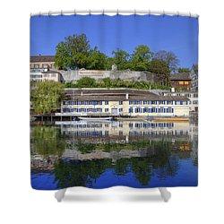 Zurich Shower Curtain by Joana Kruse