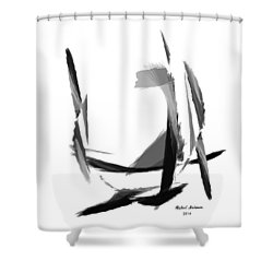 Abstract Series II Shower Curtain