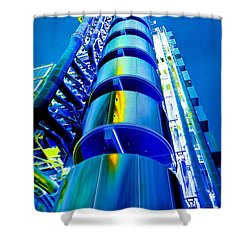 Lloyd's Building London Art Shower Curtain