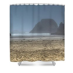 10 Mile Beach Shower Curtain