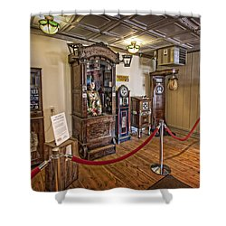 10 Million Dollar Fortune Teller Penny Arcade Game C. 1900 Shower Curtain by Daniel Hagerman
