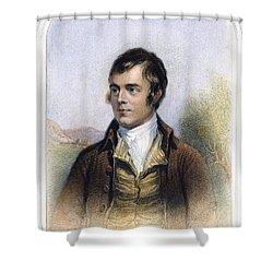 Robert Burns 1759-1796 Shower Curtain by Granger