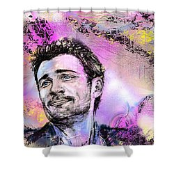 Tom Shower Curtain by Francoise Dugourd-Caput