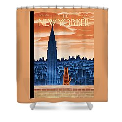 New Yorker January 12th, 2009 Shower Curtain