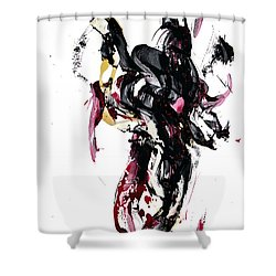 10118.110409 - Dance Of The Universe 1 Shower Curtain by Kris Haas