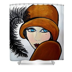 Art Deco  Gail Shower Curtain