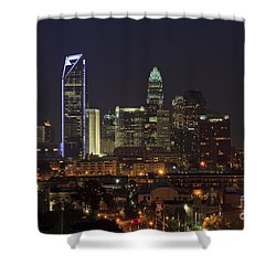 Charlotte Skyline Shower Curtain