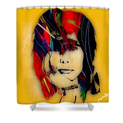 Steven Tyler Collection Shower Curtain