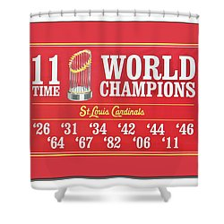 11 Time World Chapion Poster Dsc01106 Shower Curtain