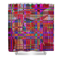 1131 Abstract Thought Shower Curtain