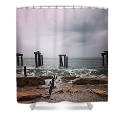 Instagram Photo Shower Curtain