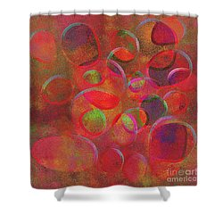 1153 Abstract Thought Shower Curtain