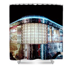11th Street Diner Shower Curtain