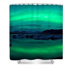 Aurora Borealis Or Northern Lights Shower Curtain