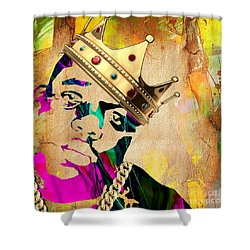 Biggie Collection Shower Curtain