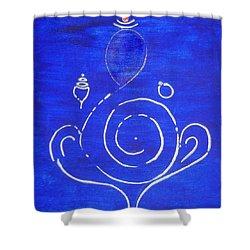 16 Ganesh Shower Curtain
