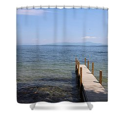 Lake Winnipesaukee Shower Curtain