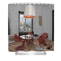 My Art In The Interior Decoration - Elena Yakubovich Shower Curtain by Elena Yakubovich