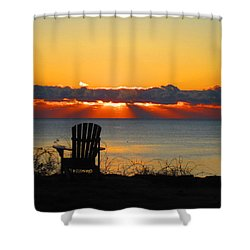 New Castle Nh Shower Curtain