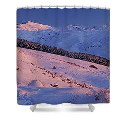 Sierra Nevada Shower Curtain by Guido Montanes Castillo